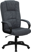 High Back Gray Fabric Executive Office Chair by Flash Furniture