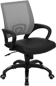Mid-Back Gray Mesh Computer Chair by Flash Furniture