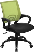 Mid-Back Green Mesh Computer Chair by Flash Furniture
