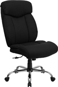 HERCULES Series 350 lb. Capacity Big & Tall Black Fabric Office Chair by Flash Furniture