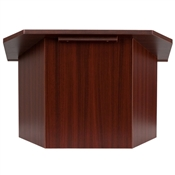 Foldable Mahogany Tabletop Lectern By Flash Furniture