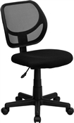 Mid-Back Black Mesh Task Chair and Computer Chair by Flash Furniture