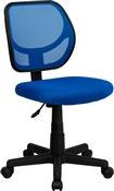 Mid-Back Blue Mesh Task Chair and Computer Chair by Flash Furniture