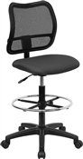 Mid-Back Mesh Drafting Stool by Flash Furniture
