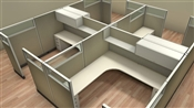 Friant Cubicle Workstations