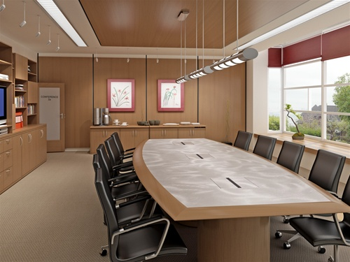 Swell Conference Boardroom Tables With Power And Data Modules Home Remodeling Inspirations Genioncuboardxyz