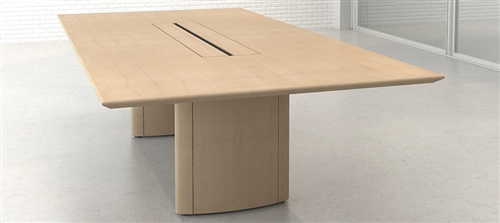 Conference Boardroom Tables with Power and Data modules.
