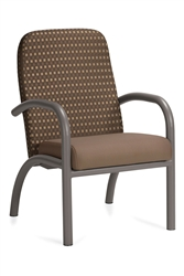 Aubra GC4181 Low Back Single Seater Chair by Global