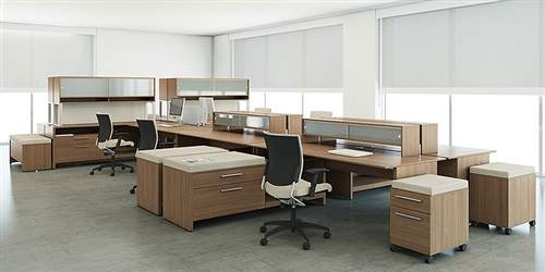 Princeton Modern Office Desks By Global From Office Furniture Outlet