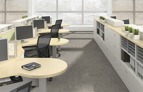 Zira Executive Desks By Global - Global office furniture
