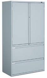 Global Storage Cabinet W Lateral File