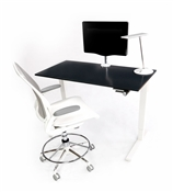 Sit and Stand Float Desk