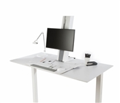 Sit and Stand QuickStand Height-Adjustable Desk