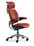 Freedom Ergonomic Chair with Leather Textile