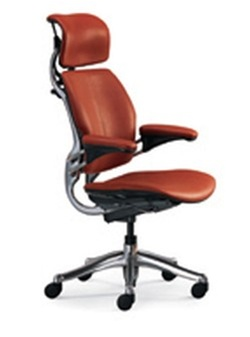 Leather Humanscale Freedom Office Chair