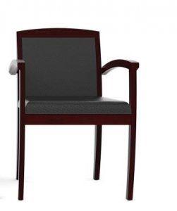 cherryman jade series wood visitor chair san diego