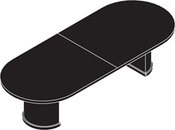 Cherryman Jade Racetrack Conference Table