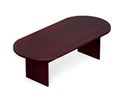 "Offices To Go 95"" Racetrack Conference Table/Slab Base"