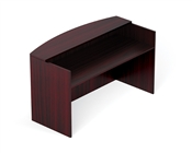 "Offices To Go 71"" Reception Desk Shell"