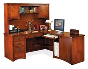 Martin MP684 Oak Computer Desk