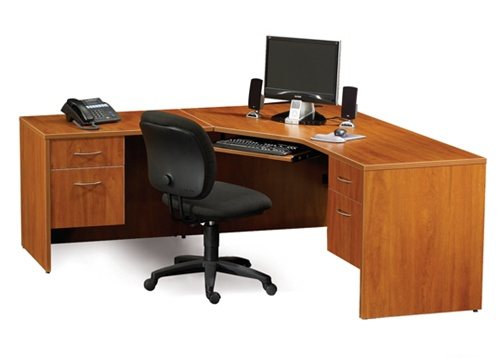 Maverick Desk Mmcd72 Computer Corner Desks 72 X W Box File Drawers