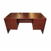 Maverick Monterey Series 36 x 72 Desk w/2 Box/File Peds