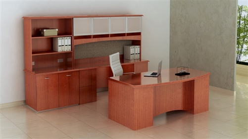 Pacifica series Executive Desks by Maverick Desk Manufacturing