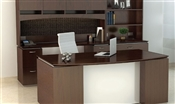 Sierra SR2 Desk and Credenza Set with Hutch