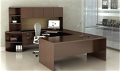 "Tahoe TH12 Executive ""U"" Desk with Hutch"
