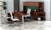 "Tahoe TH9 Executive ""U"" Desk with Hutch"