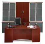 Maverick Vista Series Executive Desk Set