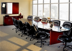Corsica Series 26' Conference Room Table