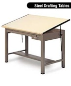 Steel Drafting Tables