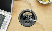 Mocket-PCS1A Desktop Power Grommet
