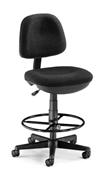 OFM Lite Use Computer Task Chair with Drafting Kit