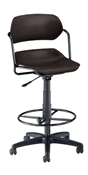 OFM Armless Swivel Chair with Drafting Kit
