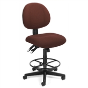 OFM 24 Hour Computer Task Chair with Drafting Kit