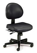 OFM 24 Hour Anti-Microbial Vinyl Computer Task Chair