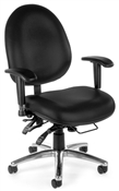 OFM 24-Hour Big & Tall Chair - Vinyl