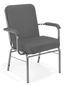OFM Big and Tall Stack Chair with Arms