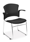 OFM MultiUse Chair with Fabric Seat and Back (Arms included)
