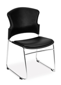 OFM MultiUse Anti-Bacterial/Anti-Microbial Vinyl Seat & Back Stacker
