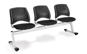 OFM Stars 3-Beam Seating with 3 Seats