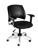 OFM Stars Swivel Chair with Arms