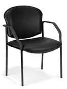 OFM Guest/Reception Chair (4 legs, Vinyl)