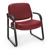 OFM Big & Tall Vinyl Guest/Reception Chair