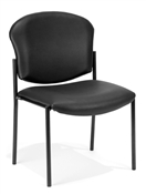OFM Armless Stack Chair - Vinyl