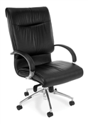 OFM Sharp Executive Leather Hi-Back Chair