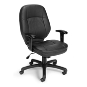 OFM Stimulus Series Ergonomic Task Chair with Adjustable Arms