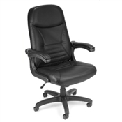 "OFM ""MobileArm"" Executive/Conference Chair (Leather)"